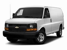 New 2017 Chevrolet Express Cargo Van RWD 2500 135 MSRP