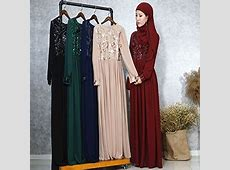 China Turkey Women Clothes Slim Sequins Chiffon Abaya