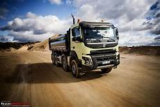 volvo commercial vehicles volvo trucks reving the entire range team bhp