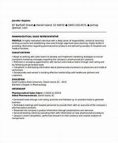 professional sales resume templates pdf doc free