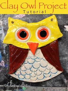 clay owl tutorial elementary school project children kids craft projects in 2019 clay art