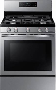 samsung free standing gas range stainless steel the brick