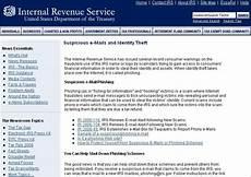 internal revenue service u s a