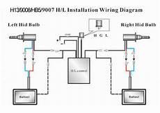 9007 Bulb Wiring Diagram by H4 Hi Lo Bi Xenon Telescopic Hid Conversion Kit Slim Ebay