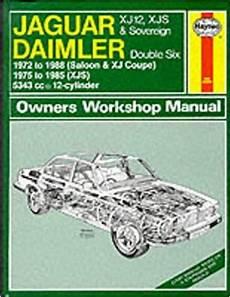 service repair manual free download 2002 jaguar xj series lane departure warning jaguar xj12 xj s xjs sovereign daimler double six 1972 1988 uk sagin workshop car manuals