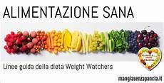 linee guida alimentazione alimentazione sana le linee guida della ww mangia senza