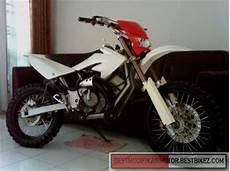 Satria 2 Tak Modif Trail by Modifikasi Suzuki Satria 2 Tak Trail Gambar Modifikasi