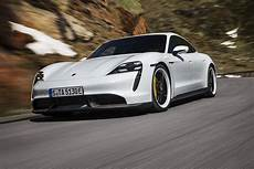 the new all electric 2020 porsche taycan is as as a