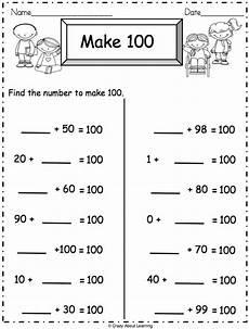 hundred addition worksheets 8890 addition math worksheet make 100 actividades de matematicas materiales didacticos y
