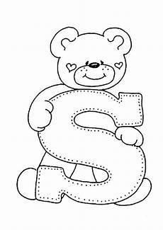 Www Kinder Malvorlagen Buchstaben Text Buchstaben A Ausmalbilder Stickerei Alphabet