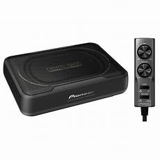 pioneer ts wx130da active underseat subwoofer driving sound