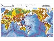 carte du monde fnac carte sismotectonique du monde 1 25 000 000 broch 233