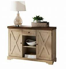 Kitchen Server Furniture Small Sideboard Buffet Table Farmhouse Wood Server Kitchen
