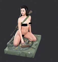 scale model female 1 35 scale sexy girl female kneeling position resin model