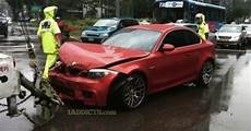 bmw 1 series m coupe involved in four crashes already