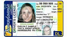 jan 2018 pa drivers license no longer valid form of id for domestic flights must get real id