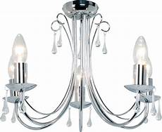 albany chrome effect 5 l ceiling light departments diy at b q