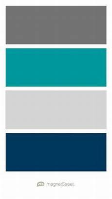 charcoal teal silver and navy wedding color palette custom color palette created at