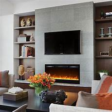 Mounted Electric Fireplace