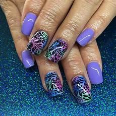 30 colourful acrylic nail art designs ideas design
