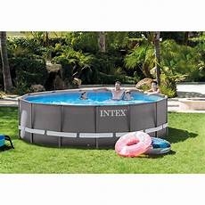 piscine intex ultra frame 4 27 x 1 22 m piscine tubulaire