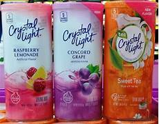 crystal light sugar free pitcher packets powdered drink