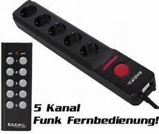 mehrfachstecker m 5 kanal funk fernbedienung
