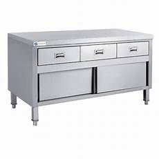 Kitchen Drawers Stainless Steel by L 1800mm With 3 Drawers Stainless Steel Kitchen Work