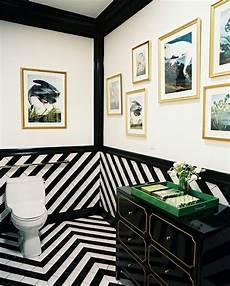 Schwarz Weiß Fliesen - wandfarbe ideen mit elegnaten streifen in schwarz und wei 223