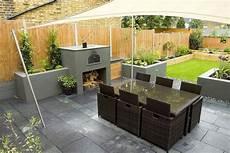 Garden Design Ideas Rectangular Garden Outdoor Magnificent