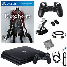 shop ps4 console sony playstation 4 pro 1tb console with bloodborne 8 in