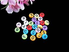 Kinder Malvorlagen Buchstaben Xl Kunststoffperlen 100 Buchstaben Perlen 7mm Garantie