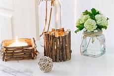 candele arredamento lade fatte con tronchi di legno