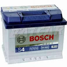 bosch silver s4 005 60 ah 60ah 540a en autobatterie