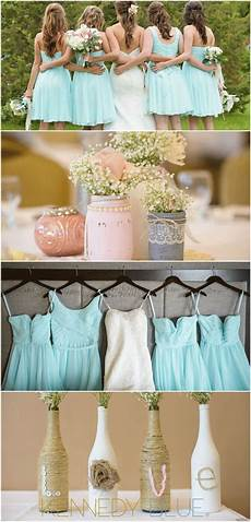 short mint blue bridesmaid are for a chic vintage mint bridesmaid
