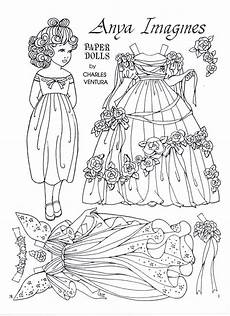 paper doll coloring pages 17642 anya imagines a paper doll by charles ventura marges8 s