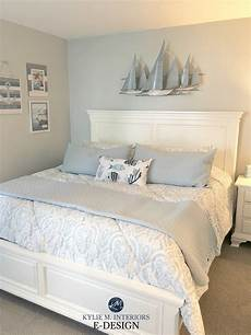 the best gray paint colour coastal beachy theme sherwin williams in bedroom with white