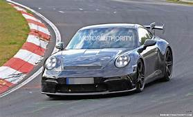2021 Porsche 911 GT3 Spy Shots And Video