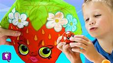 shopkins surprise toys color foam and helmet painting with hobbykidstv youtube