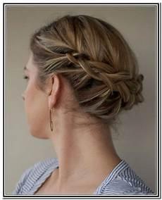 Magnifiques Chignons Sur Cheveux Courts Coiffure Simple