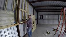 Framing Garage Walls by 2x4 Wall Framing And Questions On Interior Wall Treatment