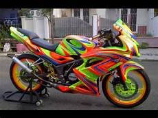 Modifikasi Rr New by Modifikasi Motor Kawasaki Rr New Airbrush