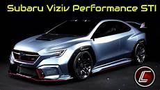 2020 subaru viziv performance sti concept interior