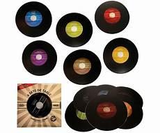set de table vinyle coffret vinyle pochette 6 set de table aspect 33 tours 722