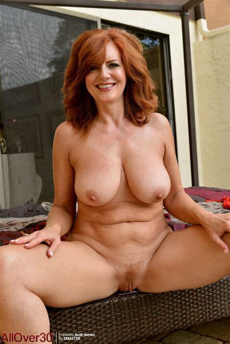 Redhead Nude Mature