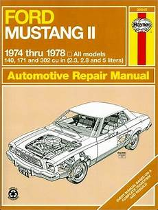 1974 78 ford mustang ii haynes repair manual 1amnl00187 at 1a auto com ford mustang ii repair manual 1974 1978 haynes 36049
