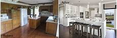 dated kitchen gets modern makeover a design connection