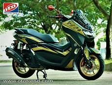 Modif Lu Belakang Nmax by Inspirasi Modif All New Nmax 2020 Mainkan Aseso Rcb