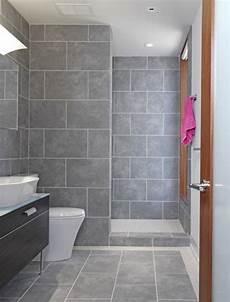 Bathroom Ideas Grey Tile by 40 Gray Slate Bathroom Tile Ideas And Pictures