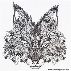 print adults difficult animals wolf hd color coloring